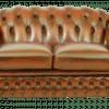 chesterfield sofa met half hoge rug gebruikt