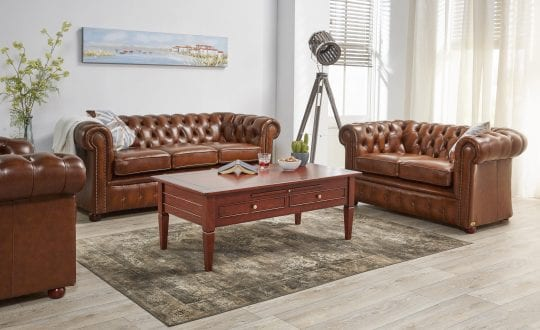 premium chesterfield Burnely als combinatie