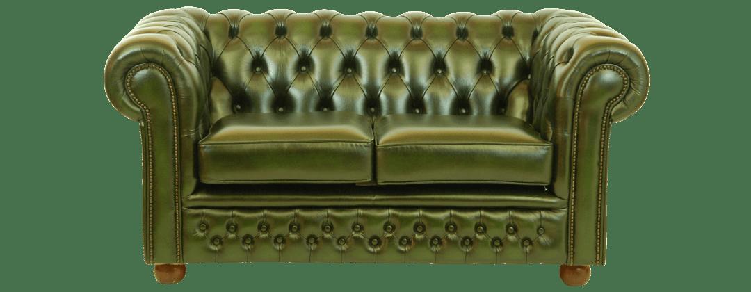 Sandhurst premium chesterfield bank in groen