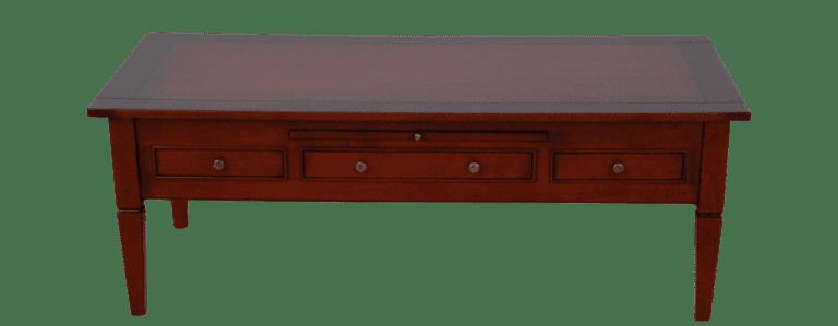 salontafel hout langwerpig lades