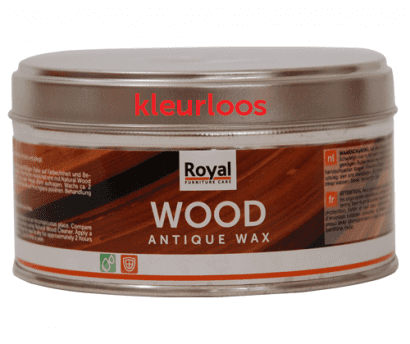 wood-antique wax-kleurloos