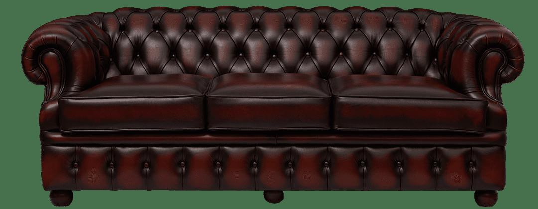 Delta-chesterfield-traditioneel-3zits-Cambridge-ant-rust-carved-arm-20364-23-vooraanzicht