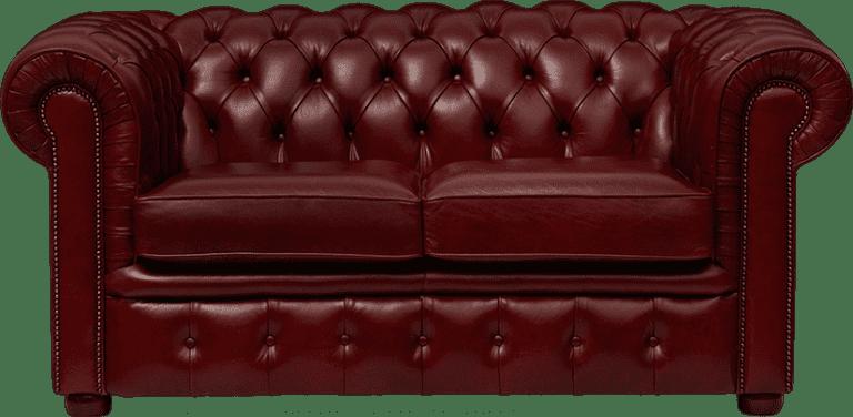 Delta-chesterfield-traditioneel-2zits-Ambassador-de-luxe-oxblood-vooraanzicht