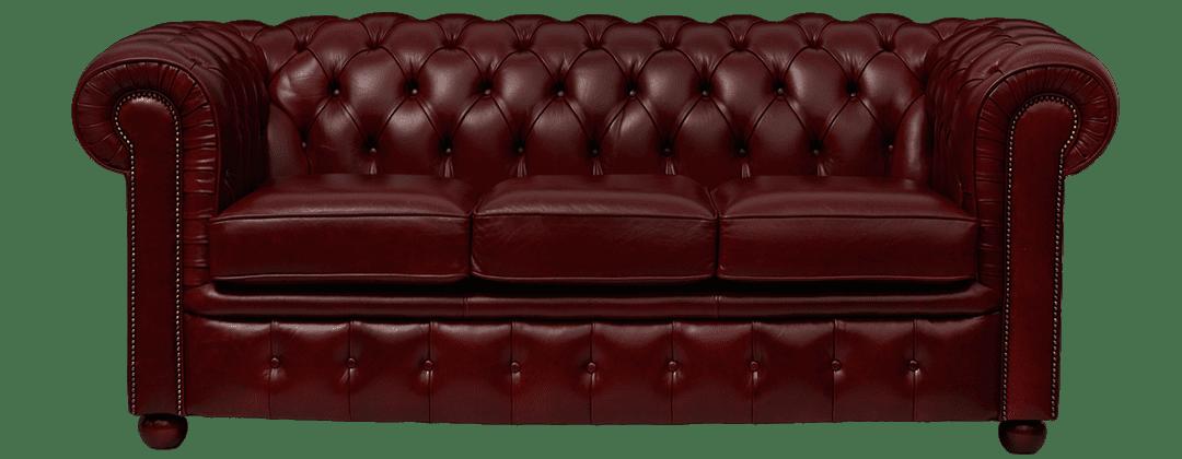 Delta-chesterfield-traditioneel-3zits-Ambassador-de-luxe-oxblood-vooraanzicht