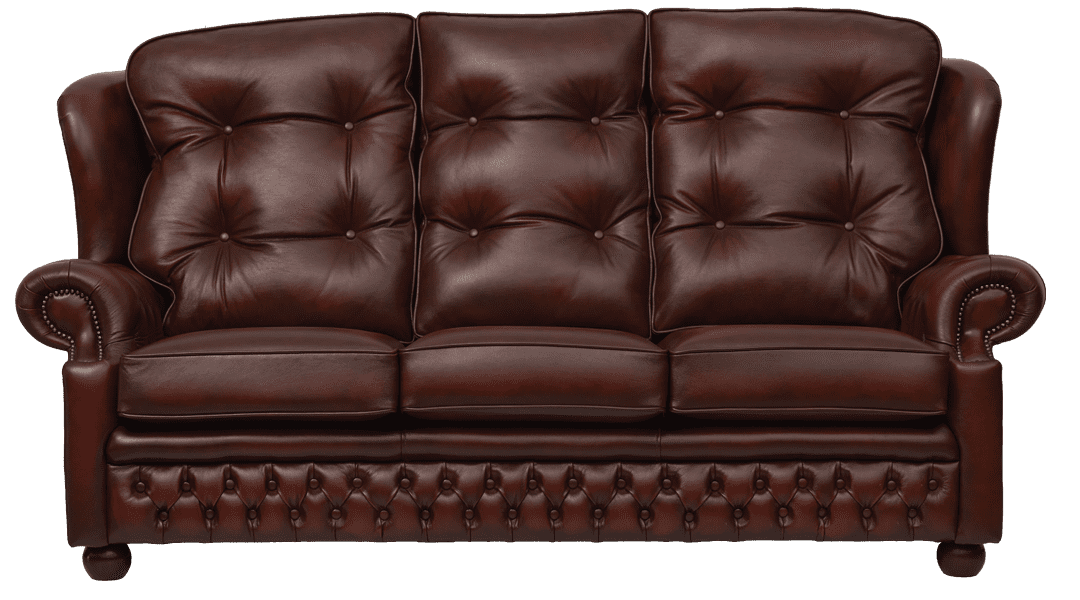 Delta-chesterfield-traditioneel-3zits-Sandringham-antique-light-rust-vooraanzicht