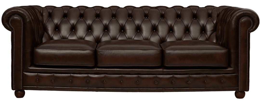 Delta-chesterfield-traditioneel-3zits-York-antique-brown-vooraanzicht