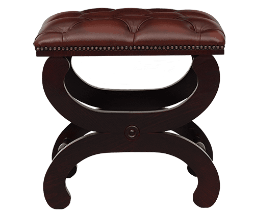 Delta-chesterfield-traditioneel-cottage-footstool-cottage-ant-light-rust