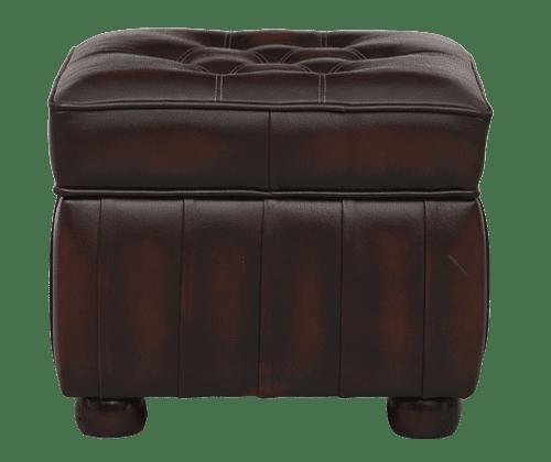 Delta-chesterfield-traditioneel-pouffe-box-dichte-dicht-ant-rust-vooraanzicht