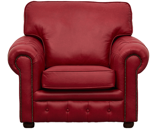 Delta-chesterfield-traditioneel-stoel-Richmond-old-english-gamay-vooraanzicht