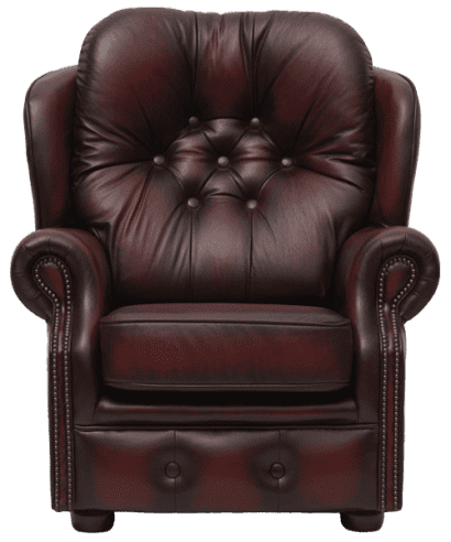 Delta-chesterfield-traditioneel-stoel-Trinity-antique-red