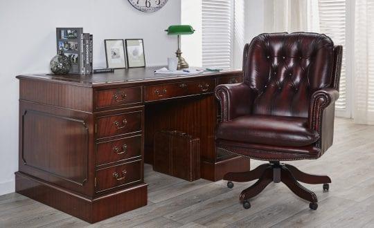 delta-chesterfield-bureau-en-president-swivel-bureaustoel