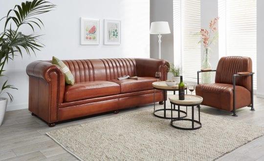 moderne chesterfield gilbert met stoel