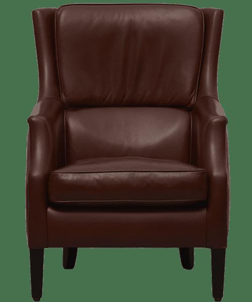 delta-chesterfield-picasso-stoel-schaap-donkerbruin-vooraanzicht