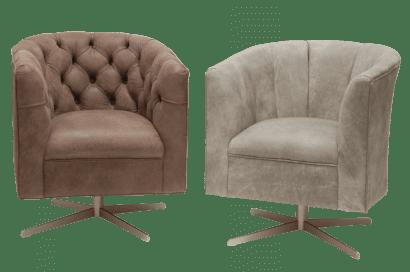 Delta-chesterfield-eigentijds-tub-chair-swivel-buttoned-back-plain-back-trible-zijaanzicht