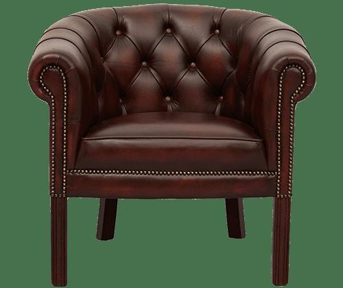 Delta-chesterfield-traditioneel-tub-chair-regency-ant-rust-vooraanzicht