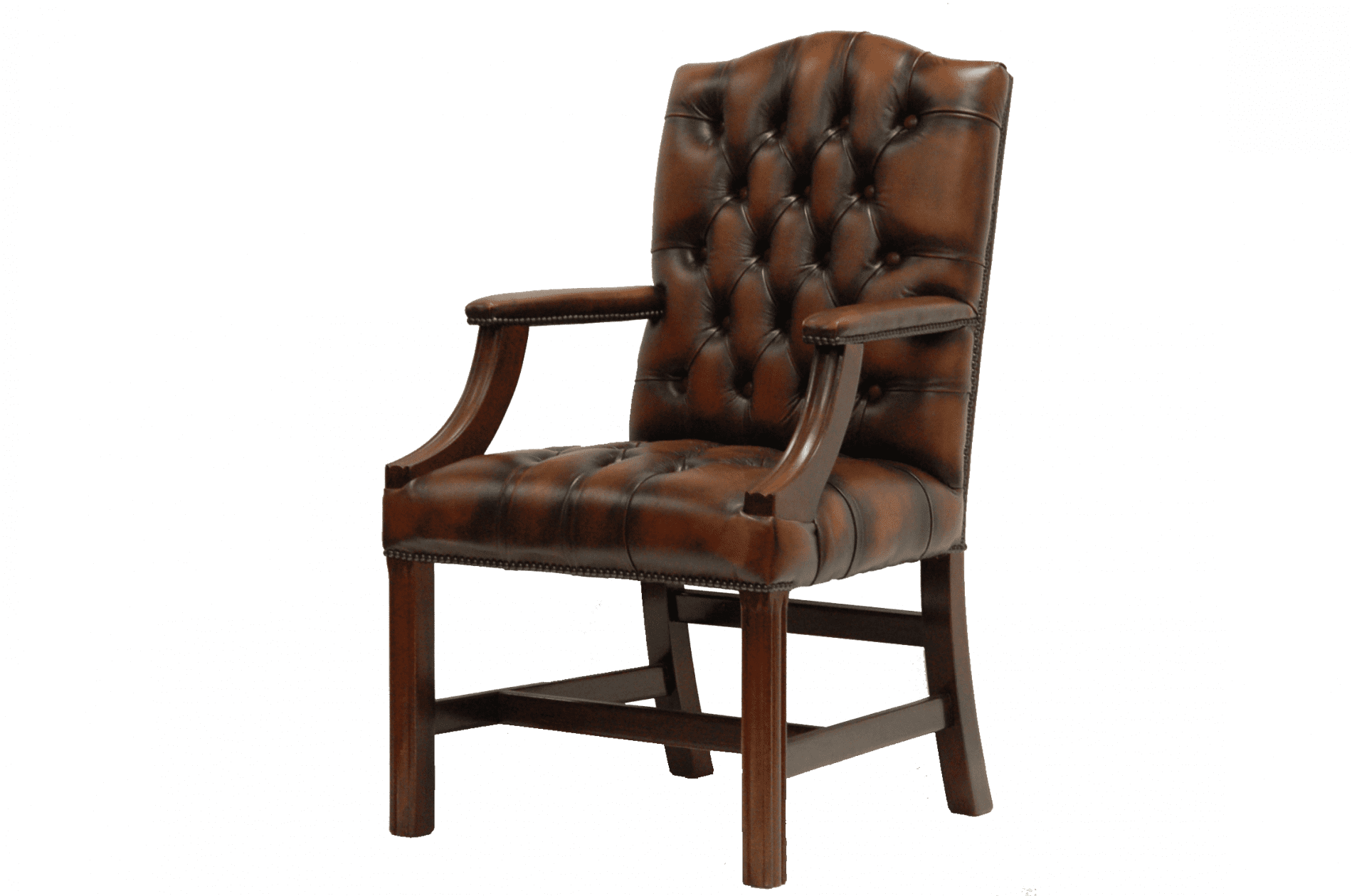 Gainsborough-stand-chair-met-armleuningen-ant-tobacco-zijaanzicht-rechts
