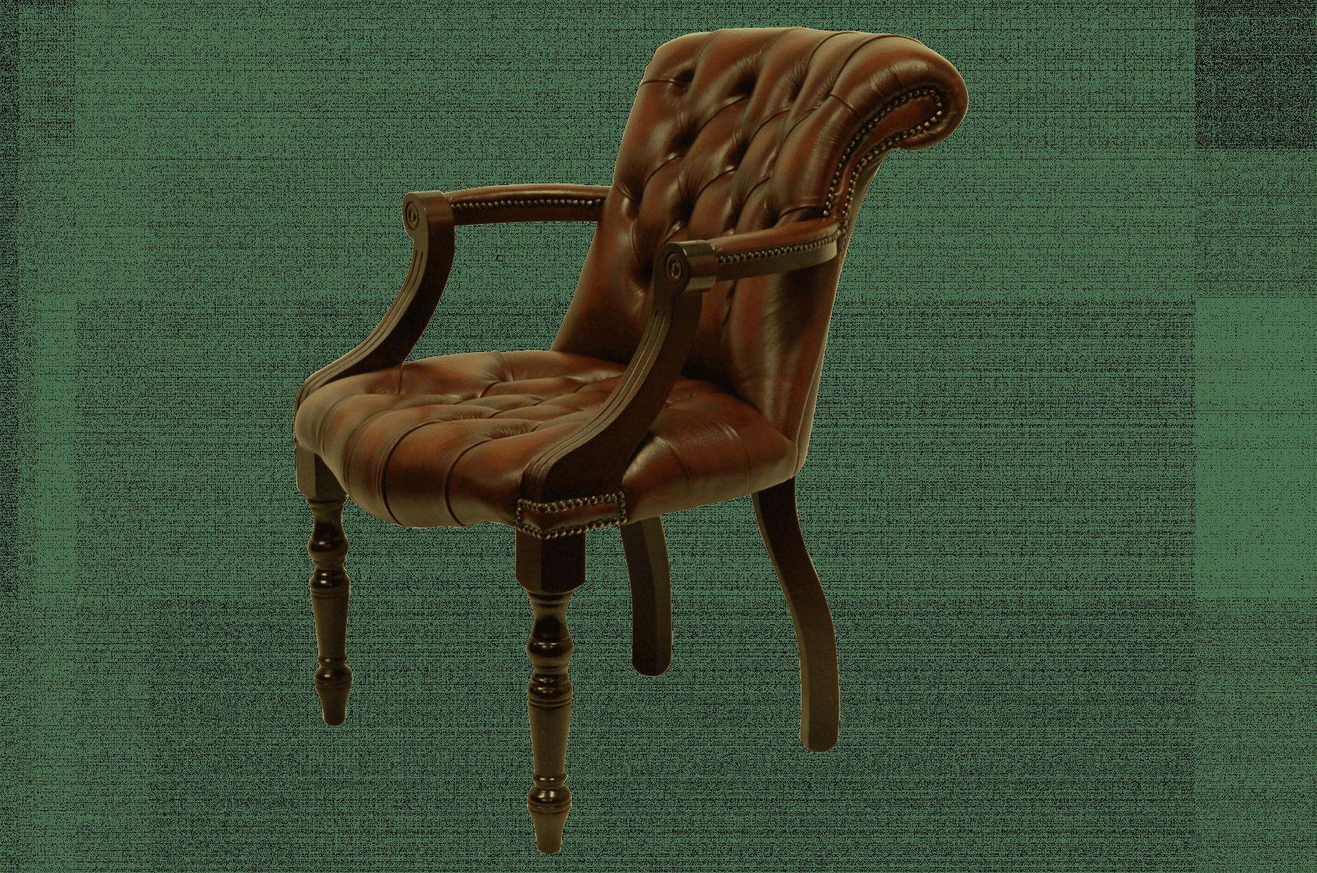 delta-chesterfield-admiral-stand-chair-light-rust-bureaustoel-zijaanzicht-links