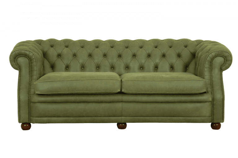 Lincoln premium chesterfield in luxe leer