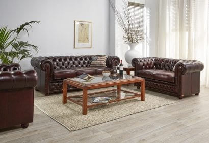Cavindish engelse chesterfield set