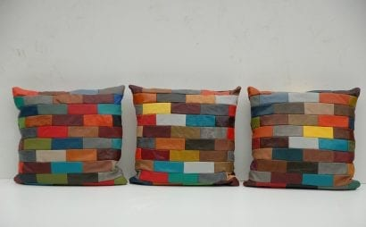 Groot multicolor chesterfield kussen