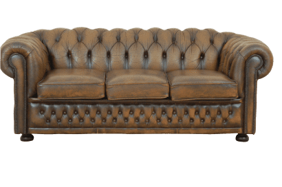 Vintage 3 zits chesterfield
