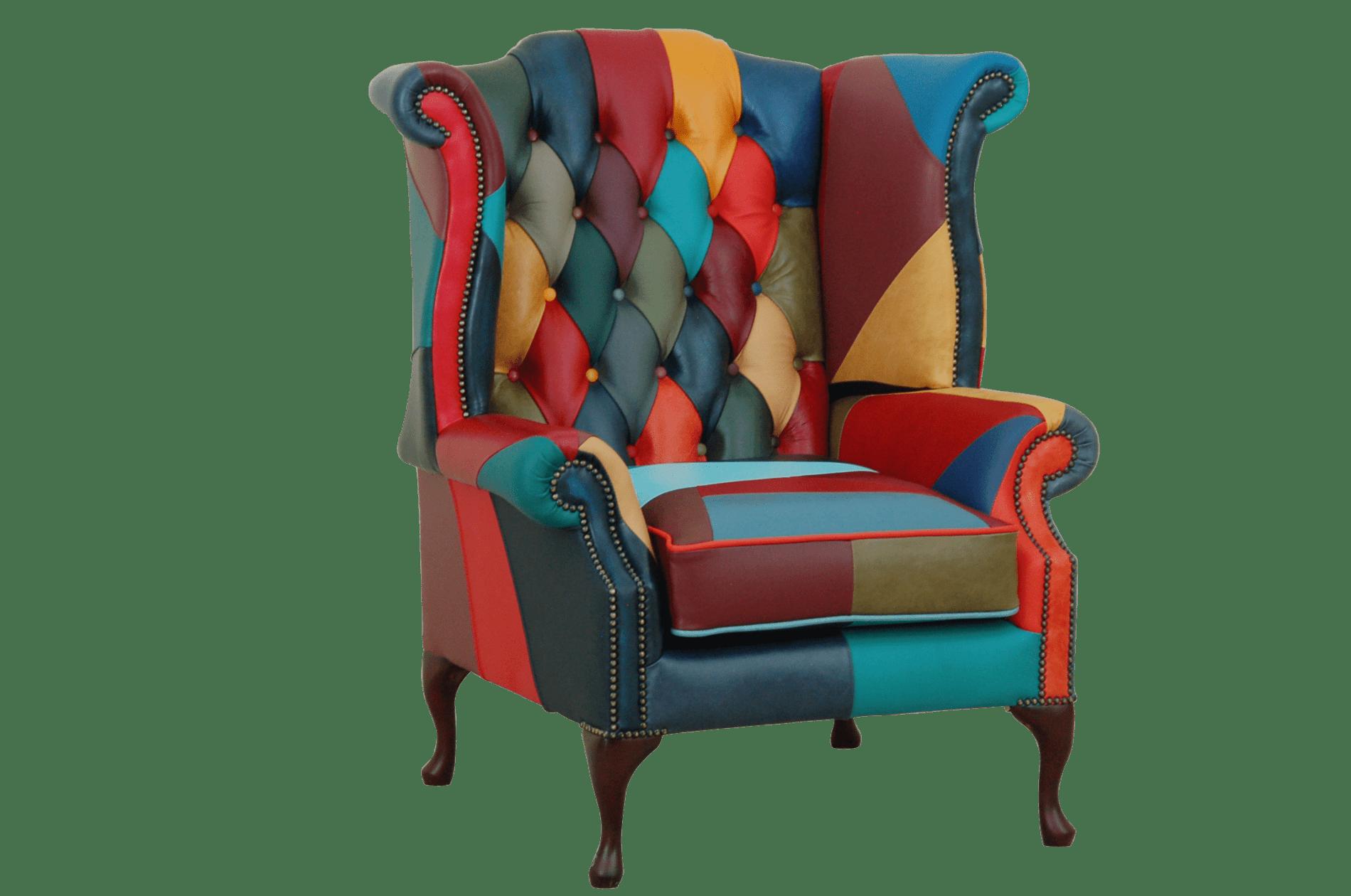 multi color cushion seat