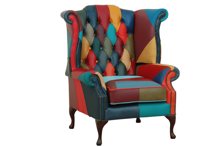 multi color cushion seat