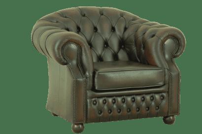 Gebruikte Windsor chesterfield stoel