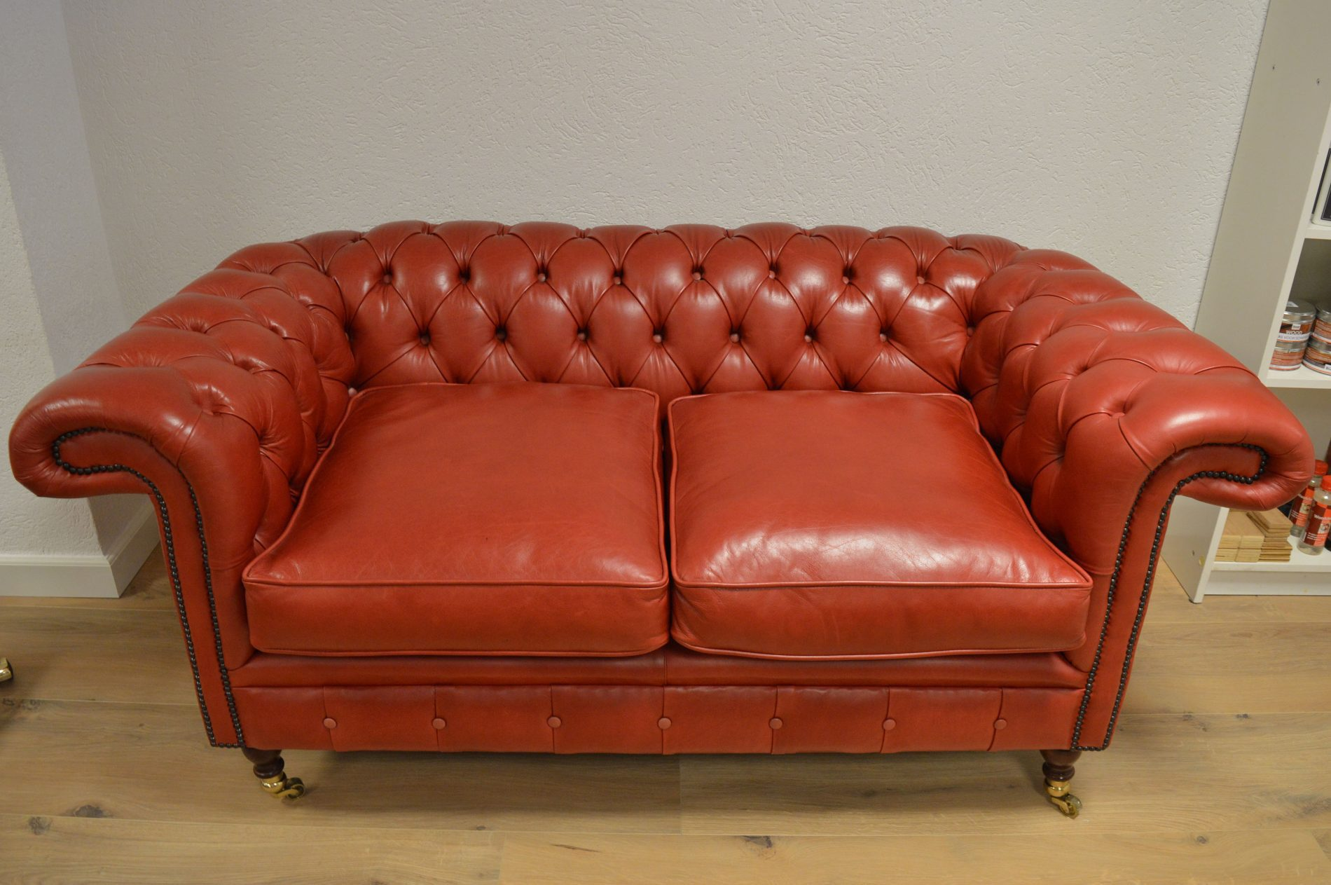 Toonkamermodel Burlington in luxery leather